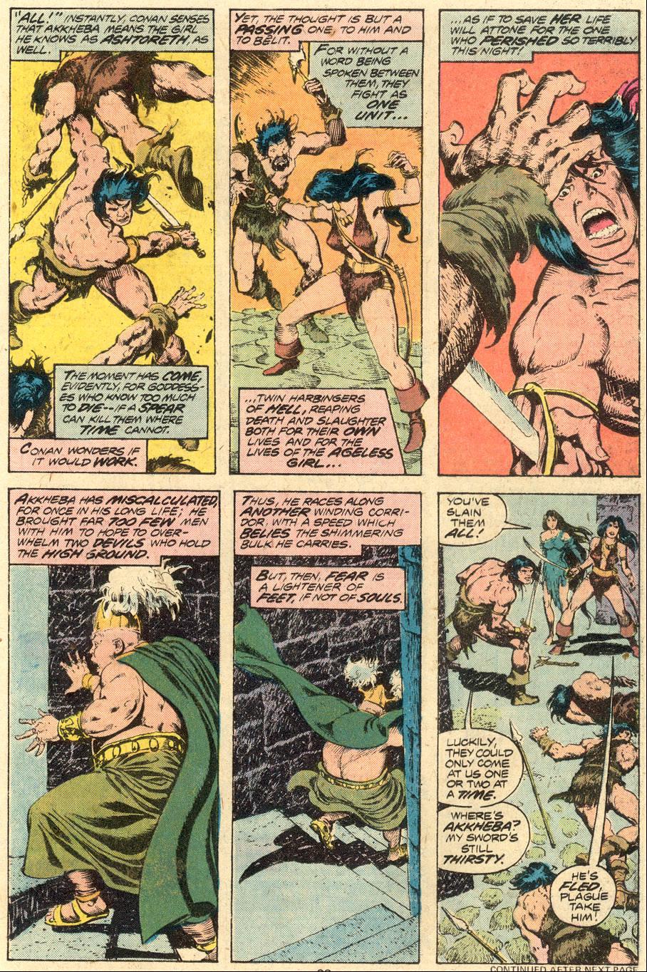 Conan the Barbarian (1970) Issue #71 #83 - English 14