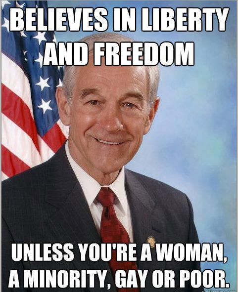 ron paul racist