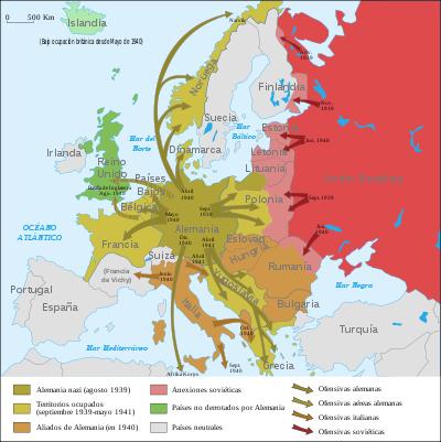 1945 segunda guerra mundial: