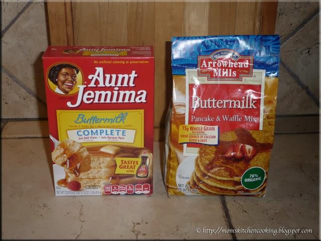 Aunt Jemima Buttermilk Complete verses Arrowhead Mills Buttermilk pancake mix