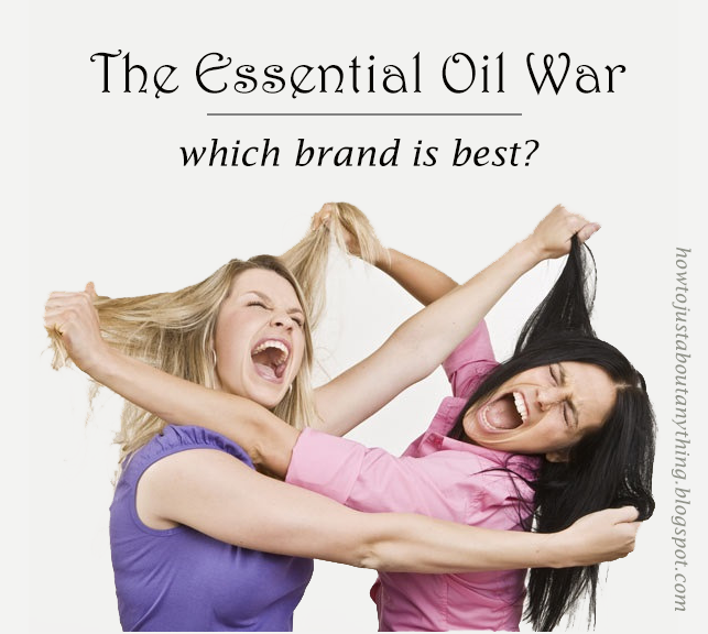 Which essential oil company is best? How to choose a quality essential oil. via How to Just Anything