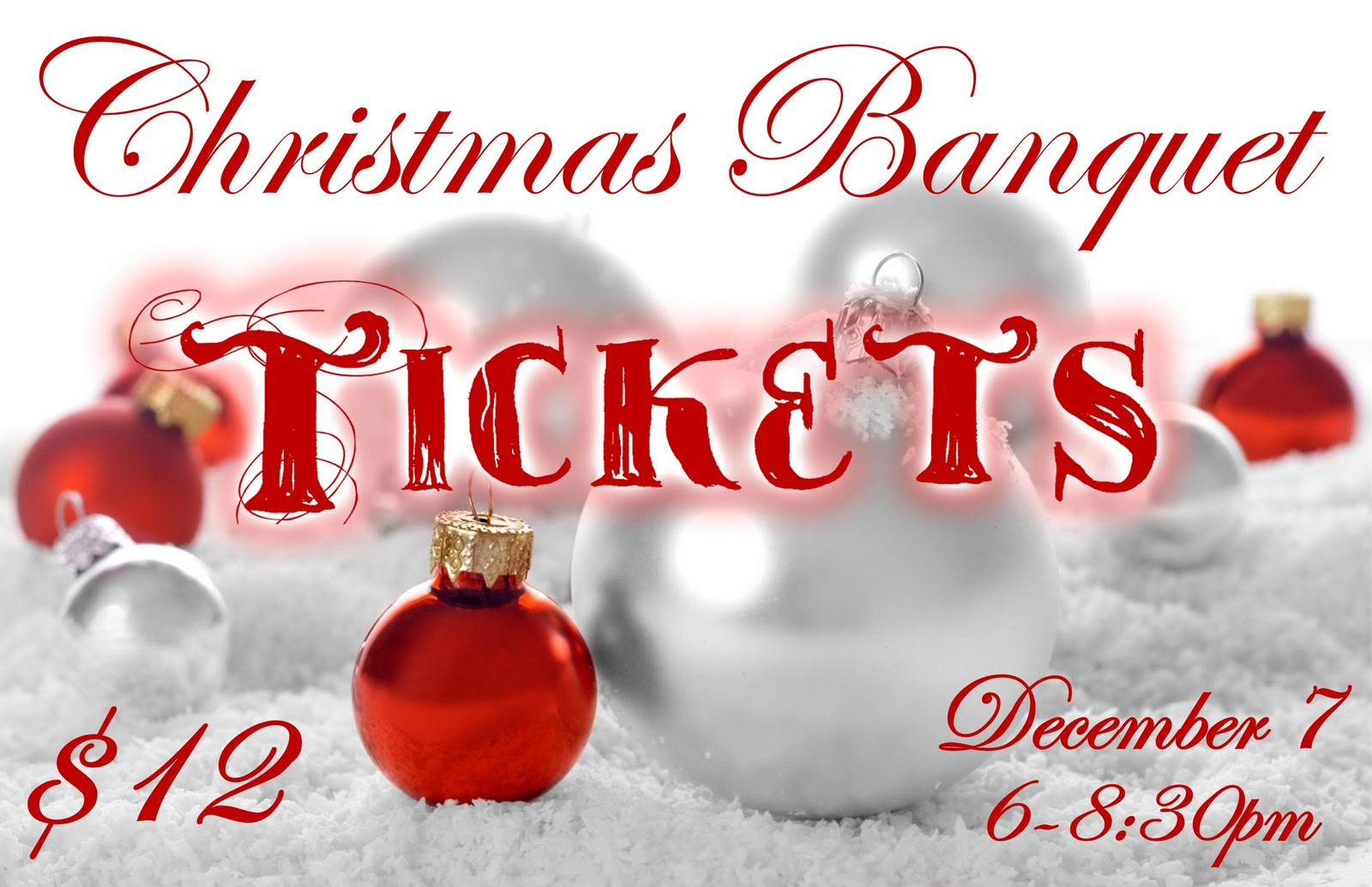 Christmas Raffle Tickets Template Free