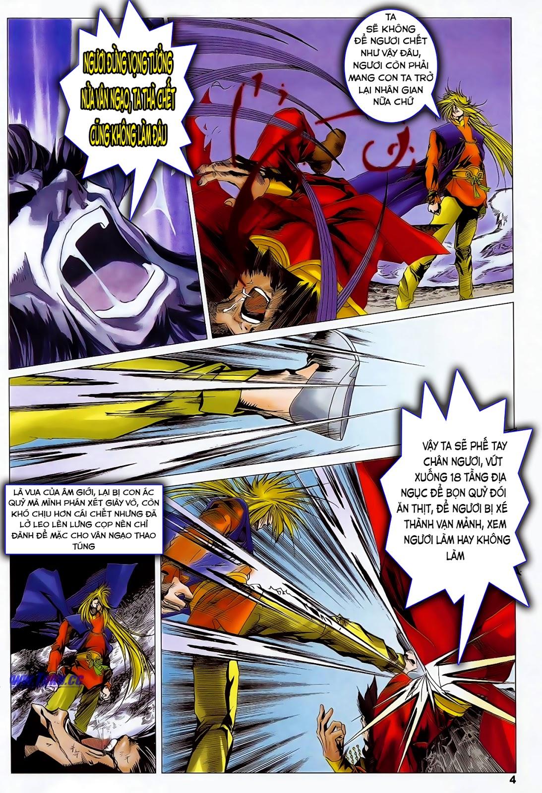 Lục Đạo Thiên Thư chap 47 - Trang 6