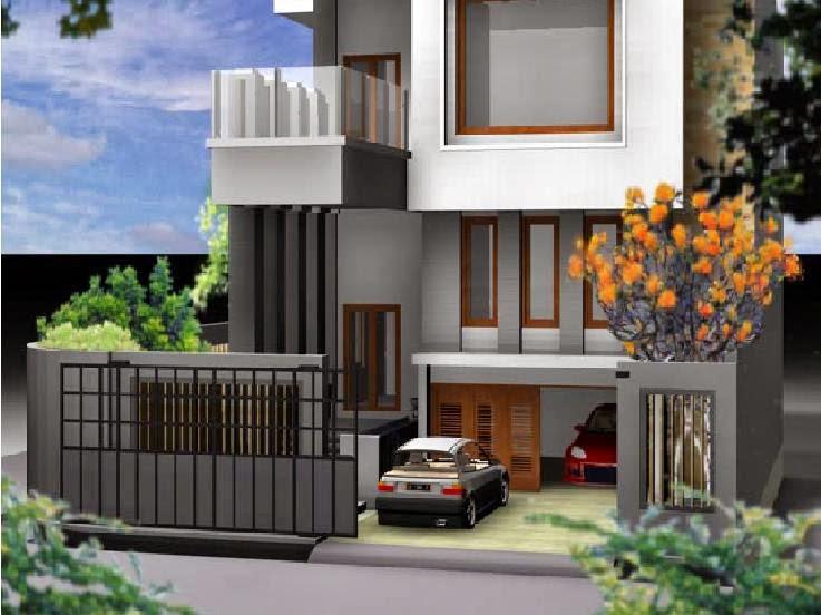 Contoh desain rumah minimalis terbaik