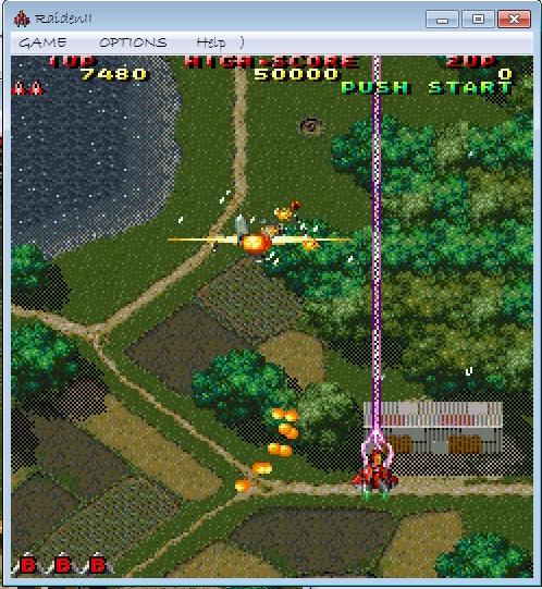 game dingdong raiden 2 (game perang pesawat)