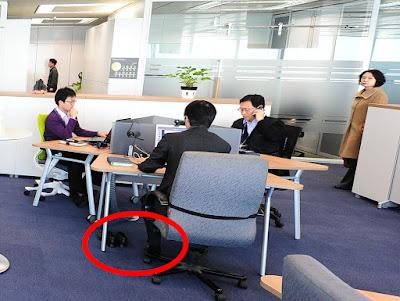 Corée-chaussettes-travail