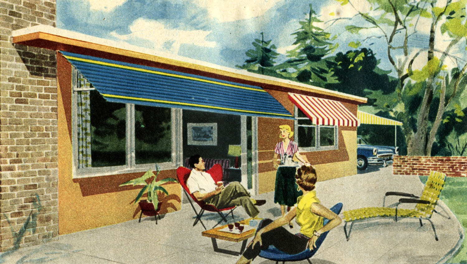 1950s Homes Gorgeous Of Retro 1950 House Images