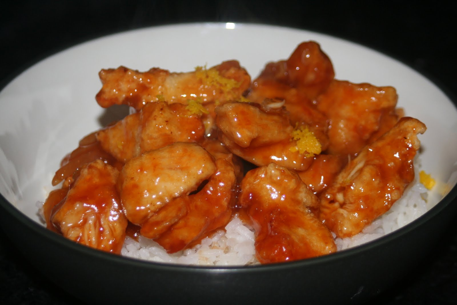 Dinner With the Bickfords: Panda Express Orange Chicken