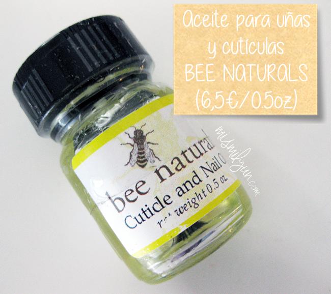 Bee naturals oil