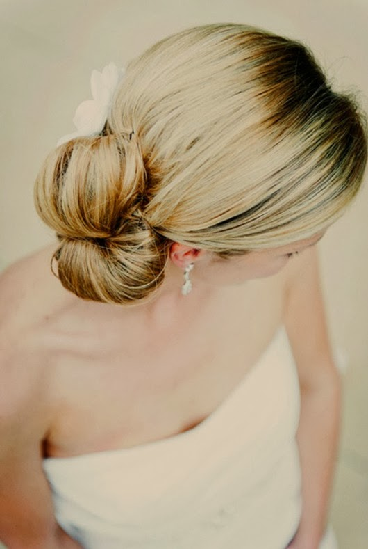 gold wedding hairstyles ideas chignon bun