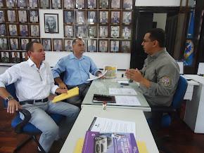 a assp-pe na defesa dos pms do bprp em reunião com o Ten. Cel Denys Lima em  12 de setembro de 2013