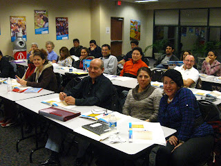 photo of class participants