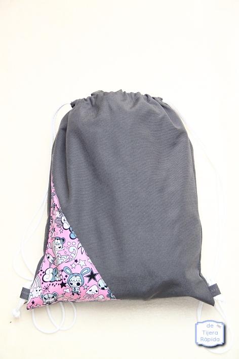 bolsa mochila para guardar meitai