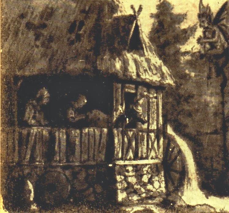 Der betrogene Teufel in der Lochmühle