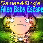 Games4King Alien Baby Esc…