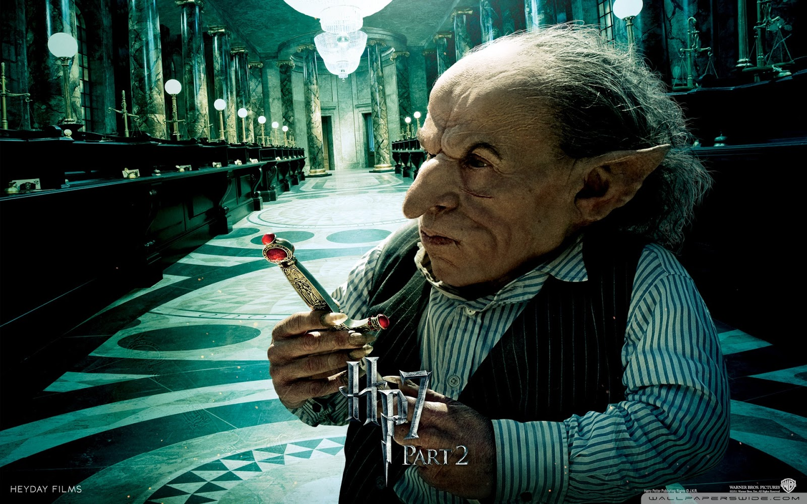 Harry Potter and the Deathly Hallows Part 2 Goblin Wallpaper