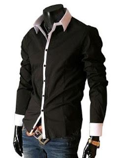 modelo de camisas slim fit masculinas