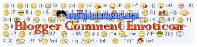 emoticon/smiley blogger