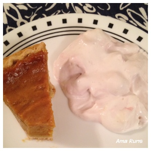 Pumpkin Pie & Eton Mess