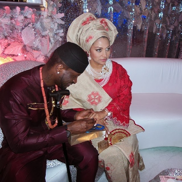 peter okoye wedding pictures