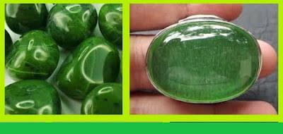 gambar batu Green Obsidian
