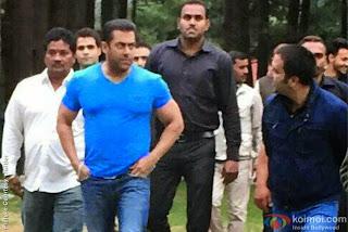 Salman khan in kashmir for bajrangi bhaijan movie shooting