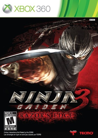 Ninja Gaiden 3 Razor's Edge Xbox 360 Región Free XGD3