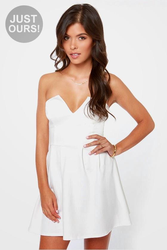 vestidos sin tirantes | Colección