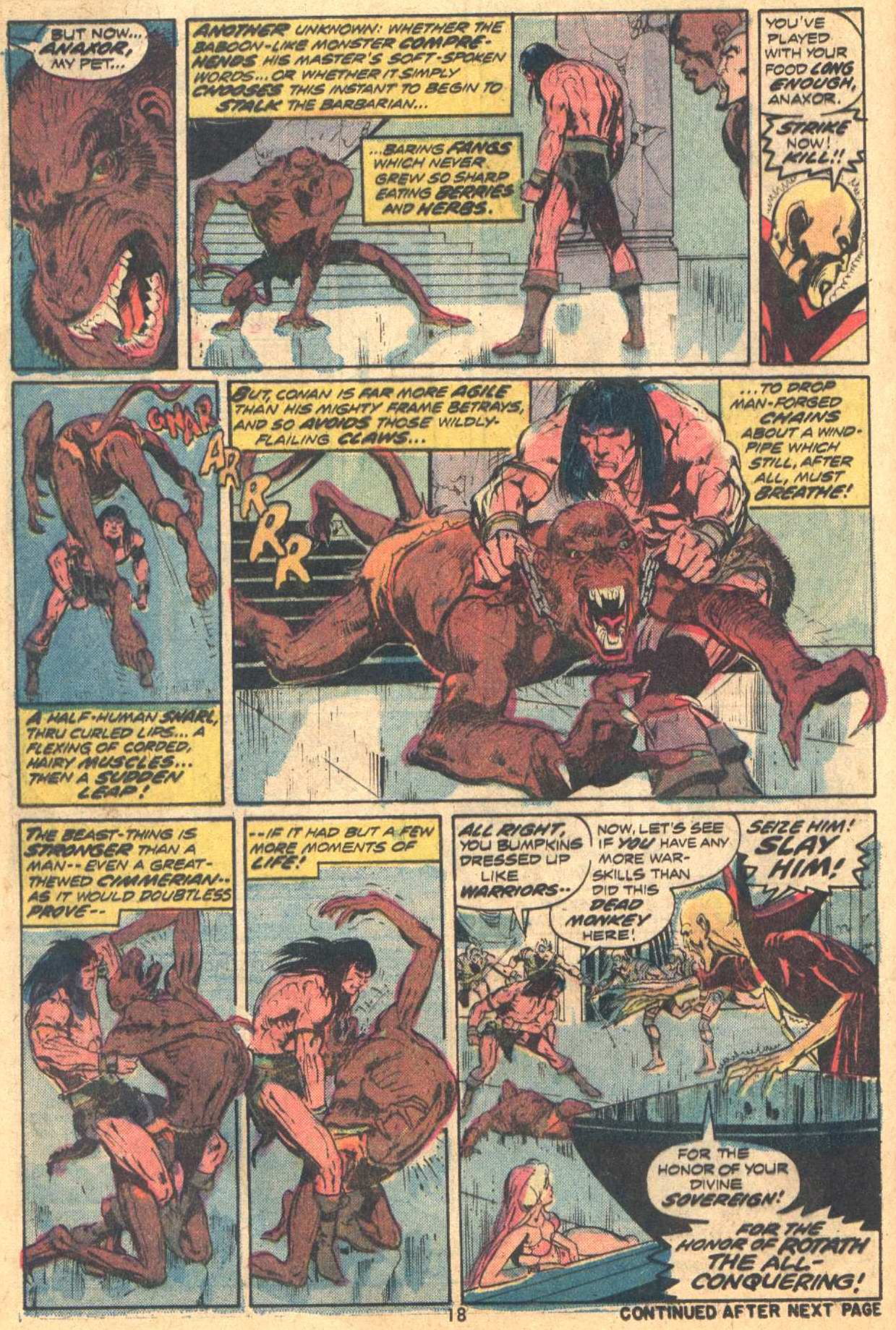 Conan the Barbarian (1970) Issue #37 #49 - English 13