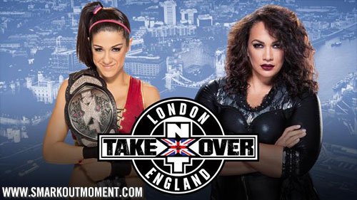 WWE NXT TakeOver: London Nia Jax vs Bayley Women's Title Mtach