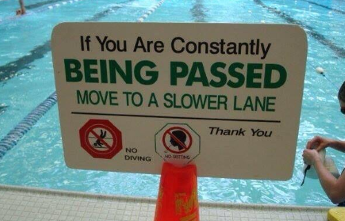 swimming, funny, quote, swimmers rant, swimmers meme, beginner swimming tips, fitness, training, exercise, weight loss, just keep moving, swimmers etiquette, public pool swimming