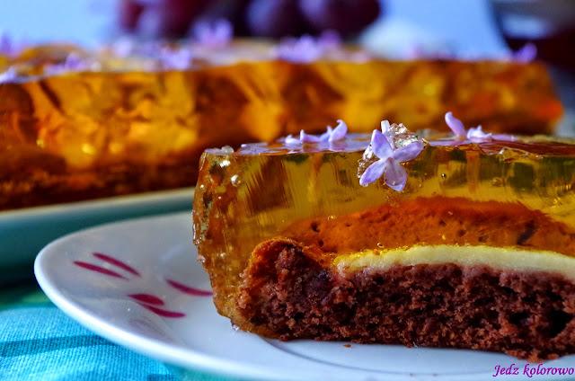 ciasto z bzem