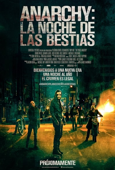 Ver Anarchy: La noche de las bestias (The Purge 2: Anarchy)