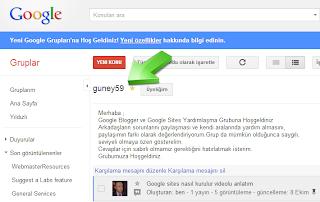 Google Guney59 Grubu