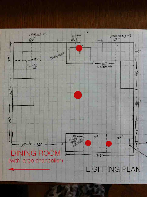 Kitchen Lighting Design Layout
