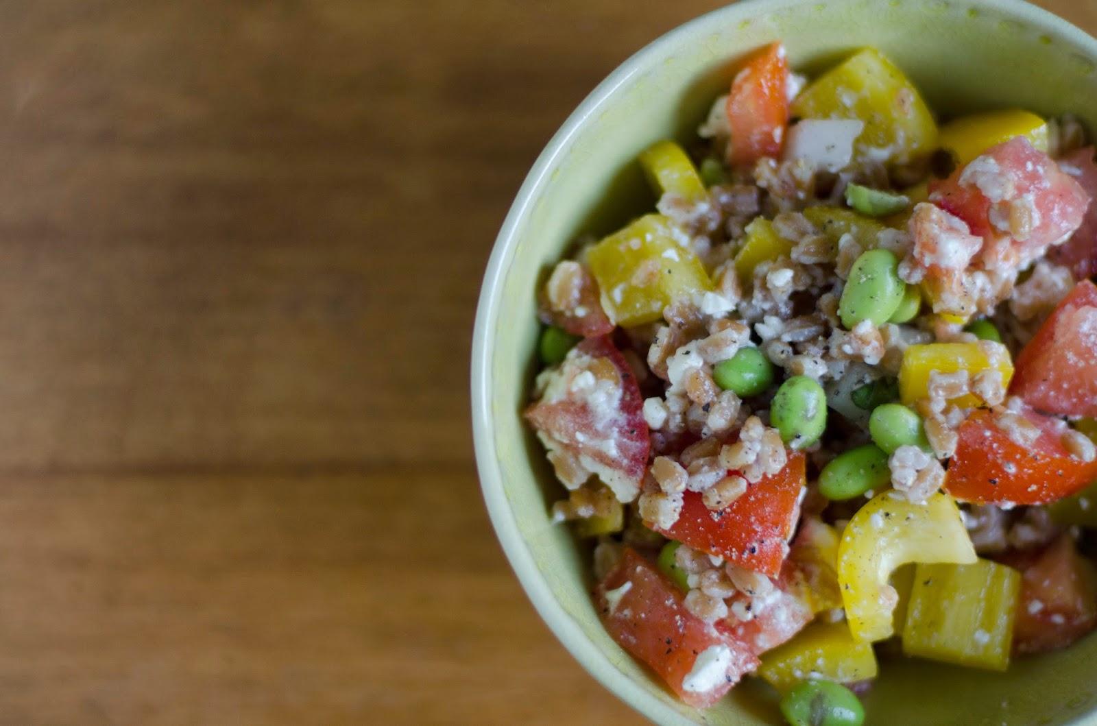Apron Days: Summer Farro Salad