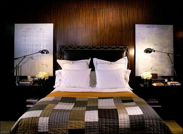 Masculine Interior Bedrooms Room Design Ideas