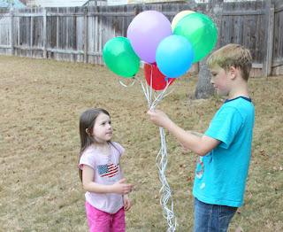 Pick balloons, helium balloons, outdoor balloons