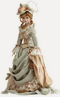 Muñecas de Porcelana, Regalos, Mamá en su Dia.