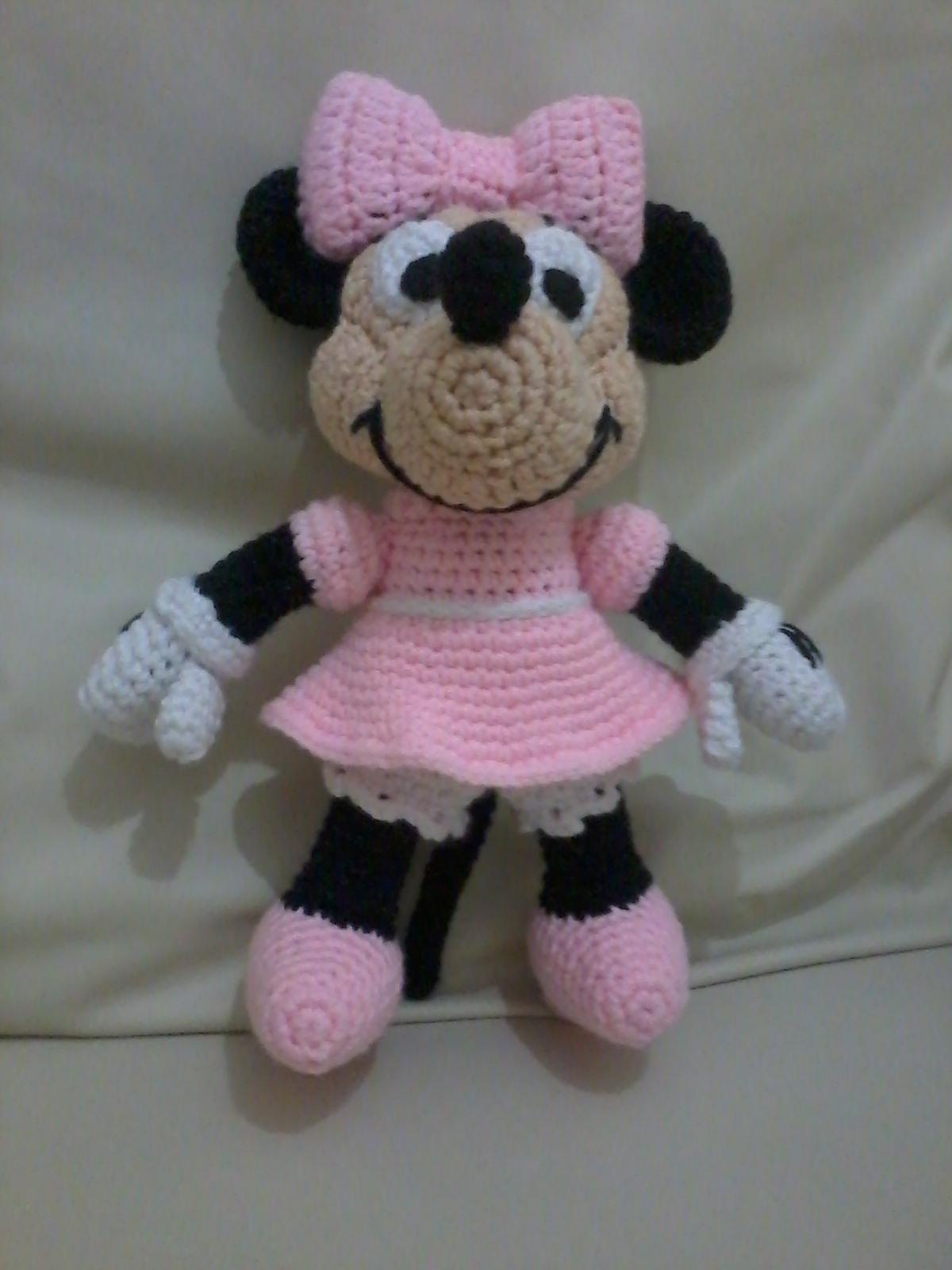 Creaciones y tejidos de Maggie: Minnie Mouse