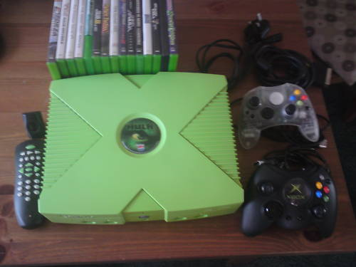 Xbox Pepsi Hulk Edition Xbox M0dz