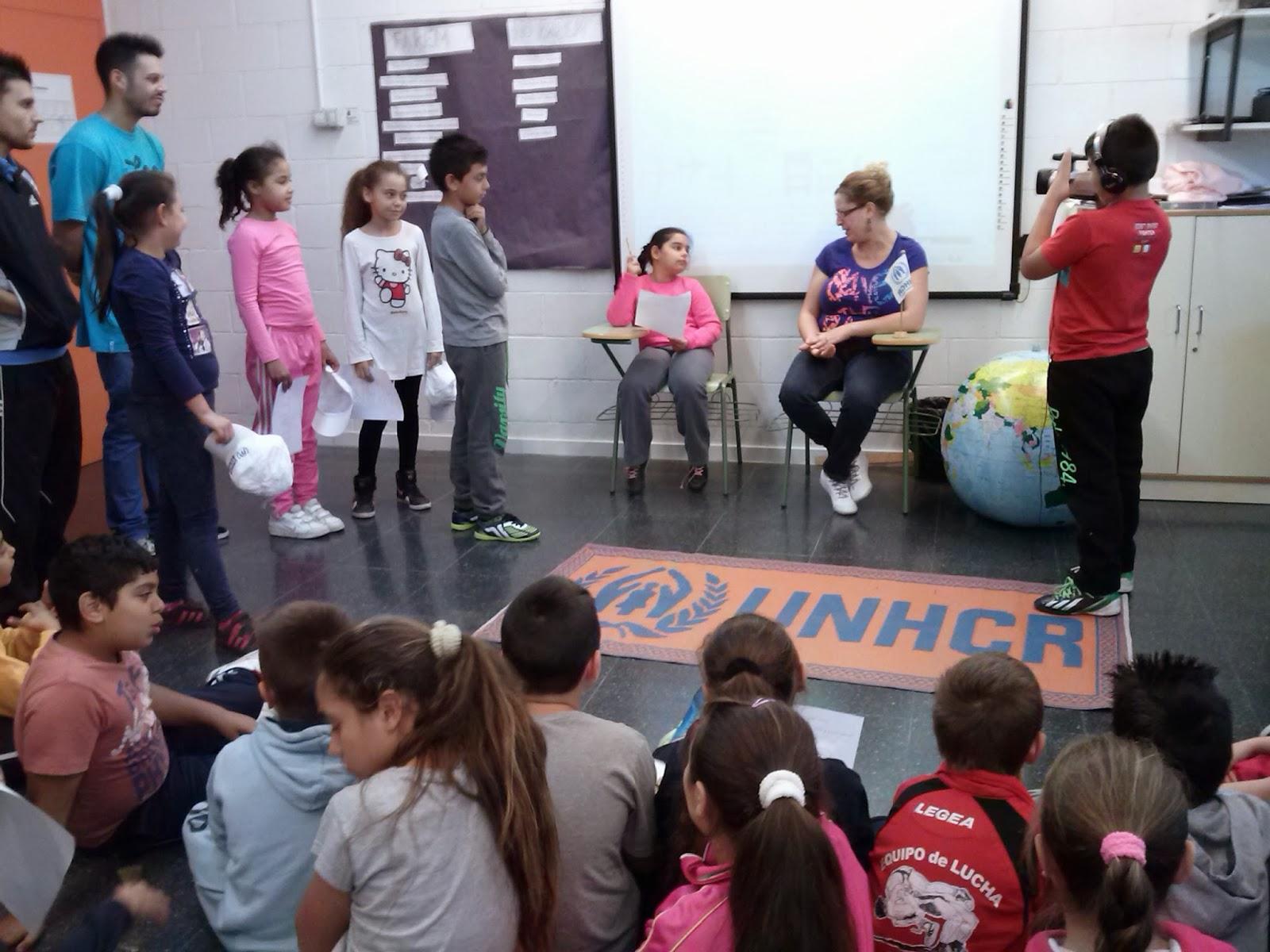 Taller 'Fem-los créixer' a l'Escola Mediterrània de Sant Adrià del Besós.