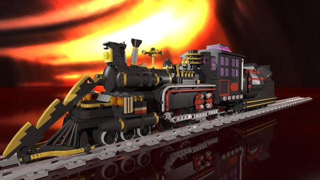 lego dimensions back to the future instructions train