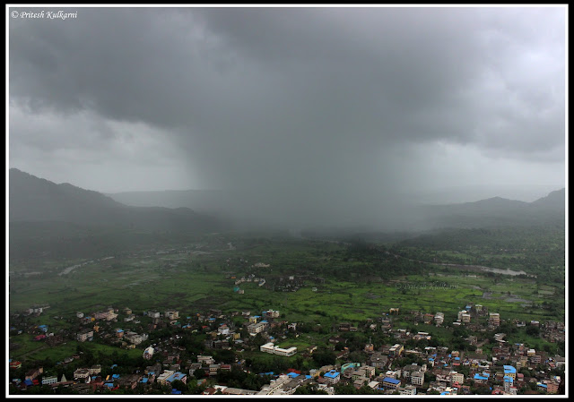 Monsoon approaching towards Pali village