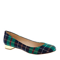 J. Crew Collection Janey Printed Flats