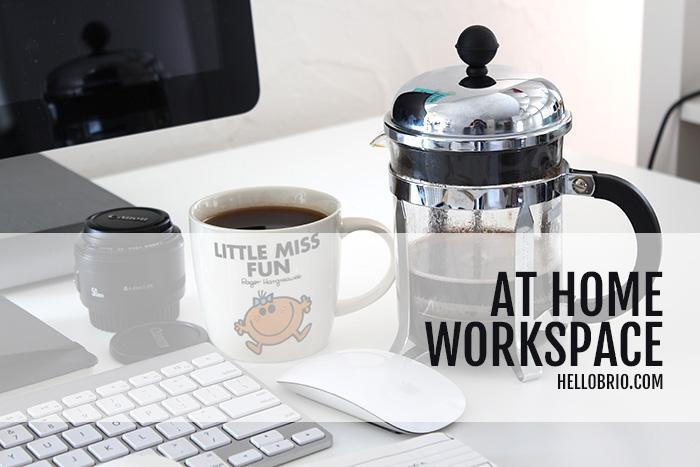 Creative At-Home Desk and Workspace Tour - HelloBrio.com