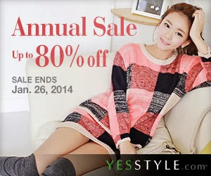 Shop Now! YesStyle 's Year End Sale Ends Soon.