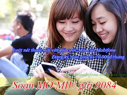 Hướng dẫn đăng ký 3G gói cước Miu của Mobifone