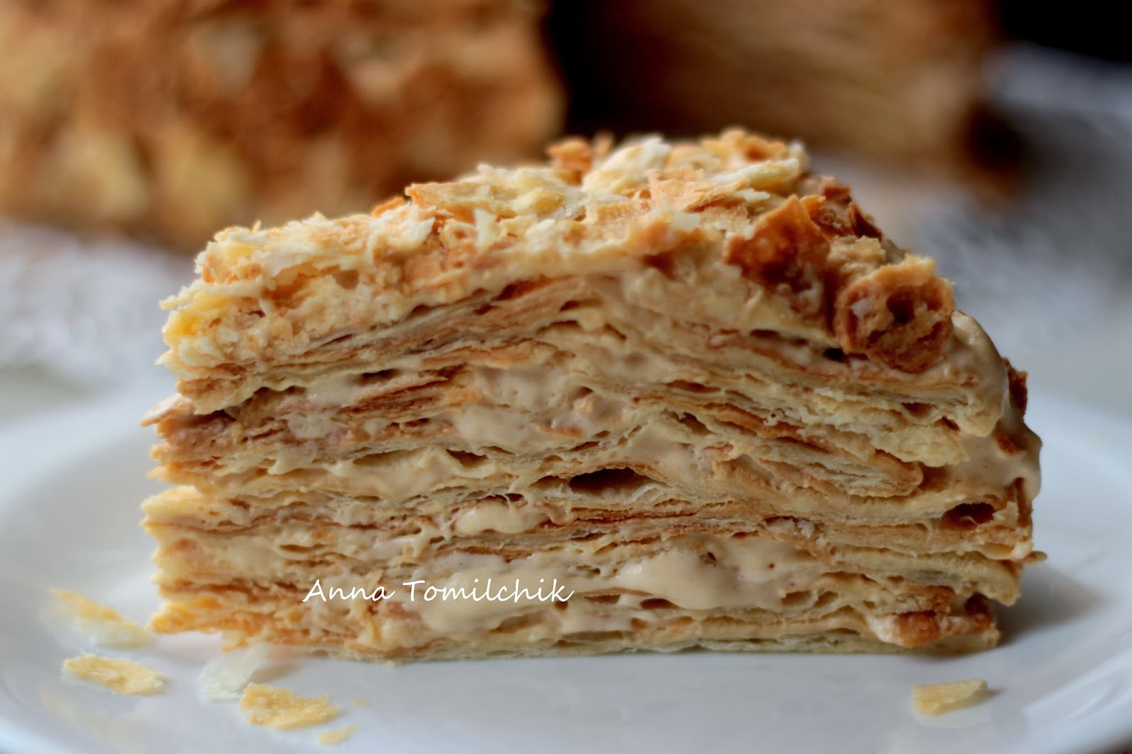 Торт Наполеон на сковороде: рецепт на сайте Всё о десертах