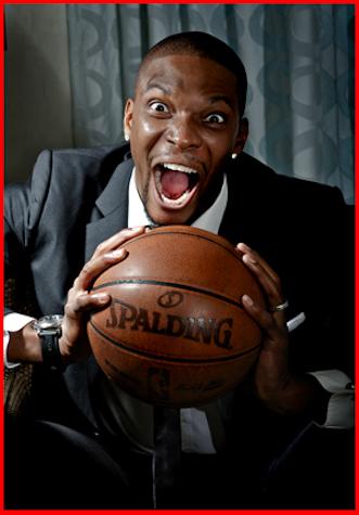 Chris Bosh Crazy Face | NBA FUNNY MOMENTS